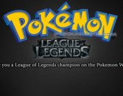 Fan Creates Pokemon League of Legends Game