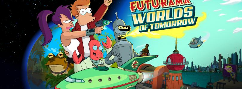 Futurama World of Tomorrow Title Screen