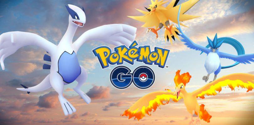 Lugia and Articuno Unlocked at Pokemon Go Fest