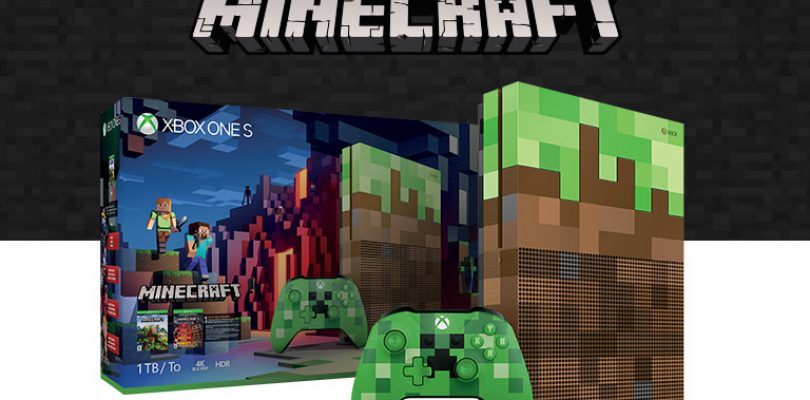 Gamescom 2017: Xbox One S Minecraft Limited Edition Bundle Announced