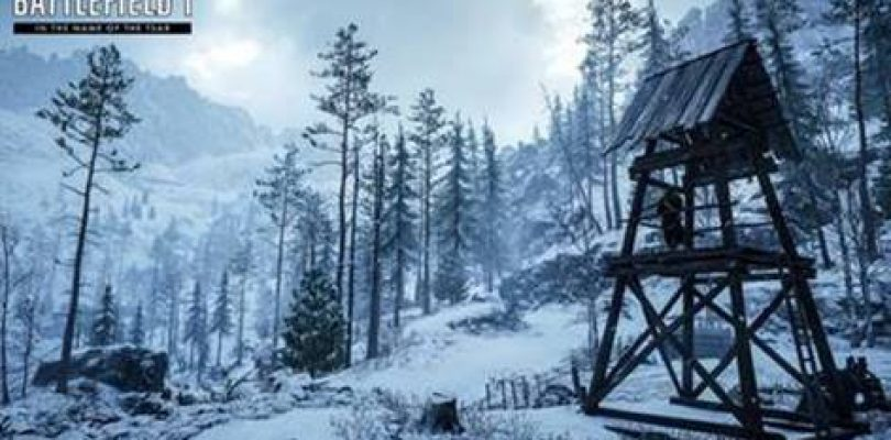 Battlefield 1 In the Name of the Tsar Tower
