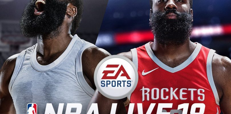 NBA Live 18 Gets Free Demo This Week, James Harden Named Cover Athlete