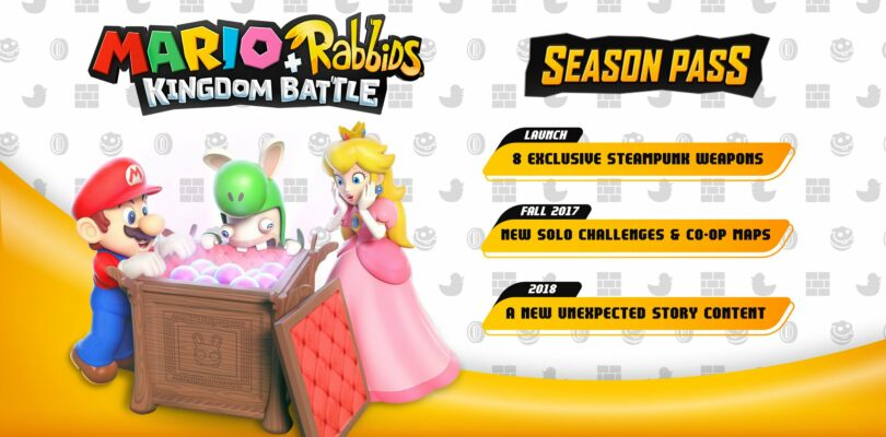 Mario + Rabbids: Kingdom Battle To Receive Season Pass