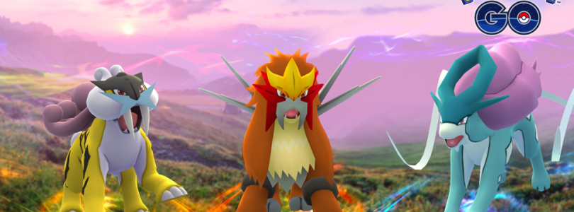 Raikou, Entei, and Suicune Have Arrived In Pokémon GO