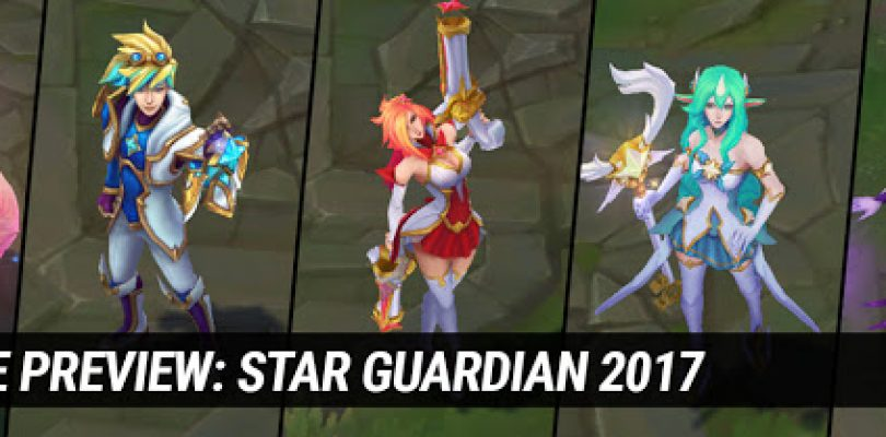 5 New Star Guardians Skins Announced for League of Legends