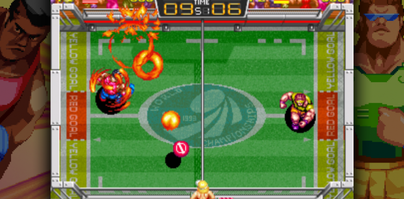 Windjammers Screen 1
