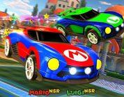 Mario, Luigi, And Samus Battle-Cars Headed To Rocket League On Nintendo Switch