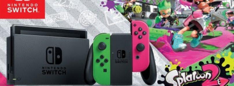 Nintendo Switch Splatoon 2 Edition Bundle Arriving Soon At Walmart Stores