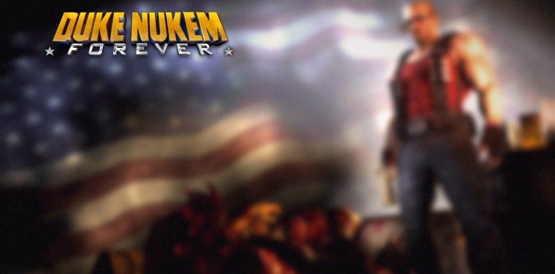 Duke Nukem Forever Splash Screen