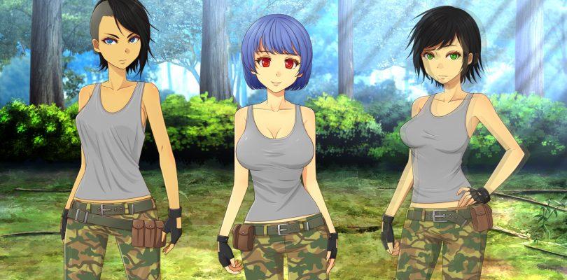 Army Gals Three Girls