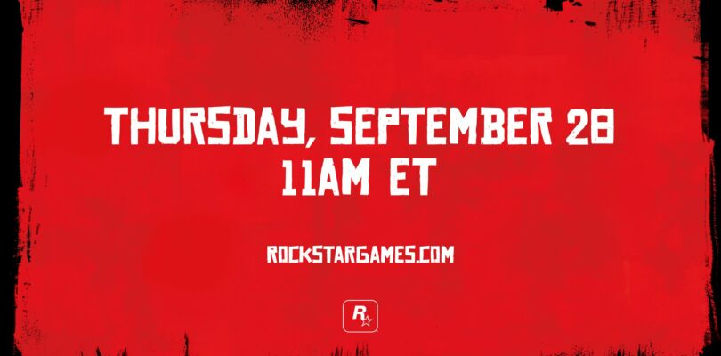 Rockstar Teases A Red Dead Redemption 2 Reveal For Next Week