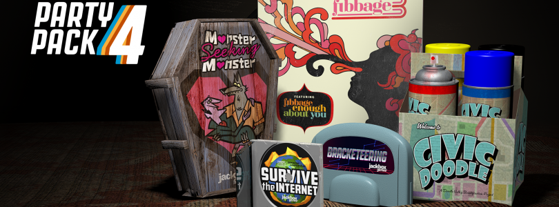 Jackbox Party Pack 4 Launching The Week Of October 17th