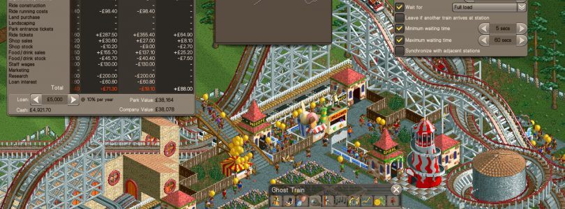 RollerCoaster Tycoon Classic Now Available on Steam