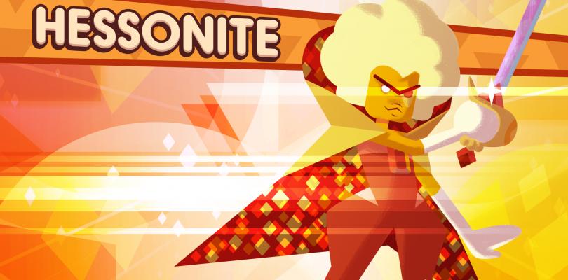 hessonite announced for steven universe game marooners rock