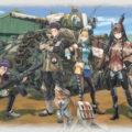 Valkyria Chronicles 4 Full Squad