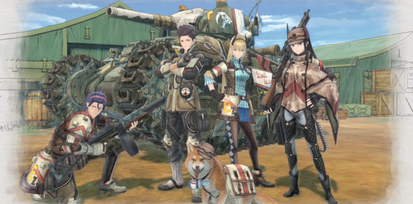 Valkyria Chronicles 4 Full Squad