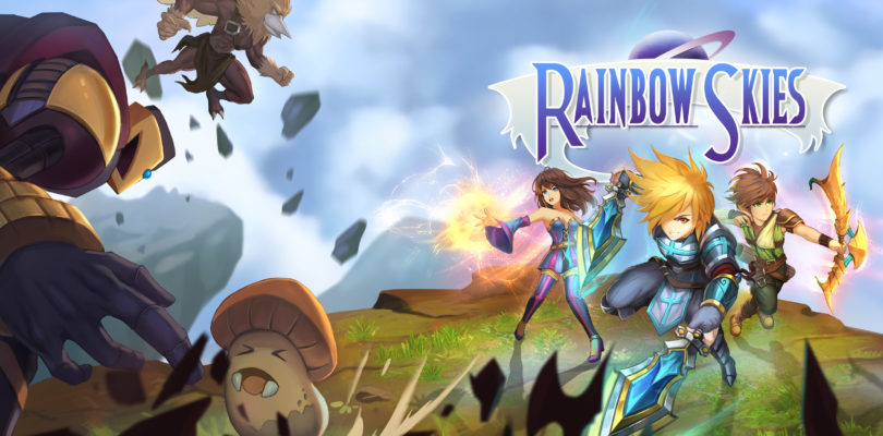 Rainbow Skies Cover Art