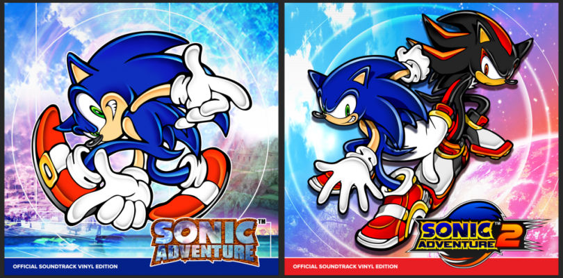 Sonic Adventure 1 & 2 Getting Vinyl Collections