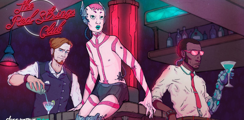 Devolver Digital's Cyberpunk Thriller, 'The Red Strings Club,' Launches January 22nd