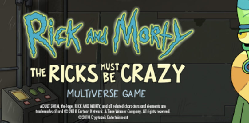 rick and morty board game announced marooners rock