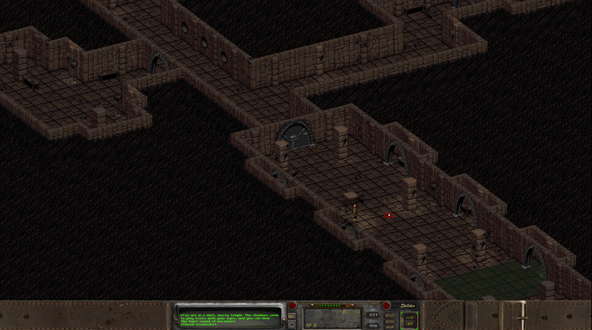 Fallout 2 Starting Temple   Marooners\' Rock
