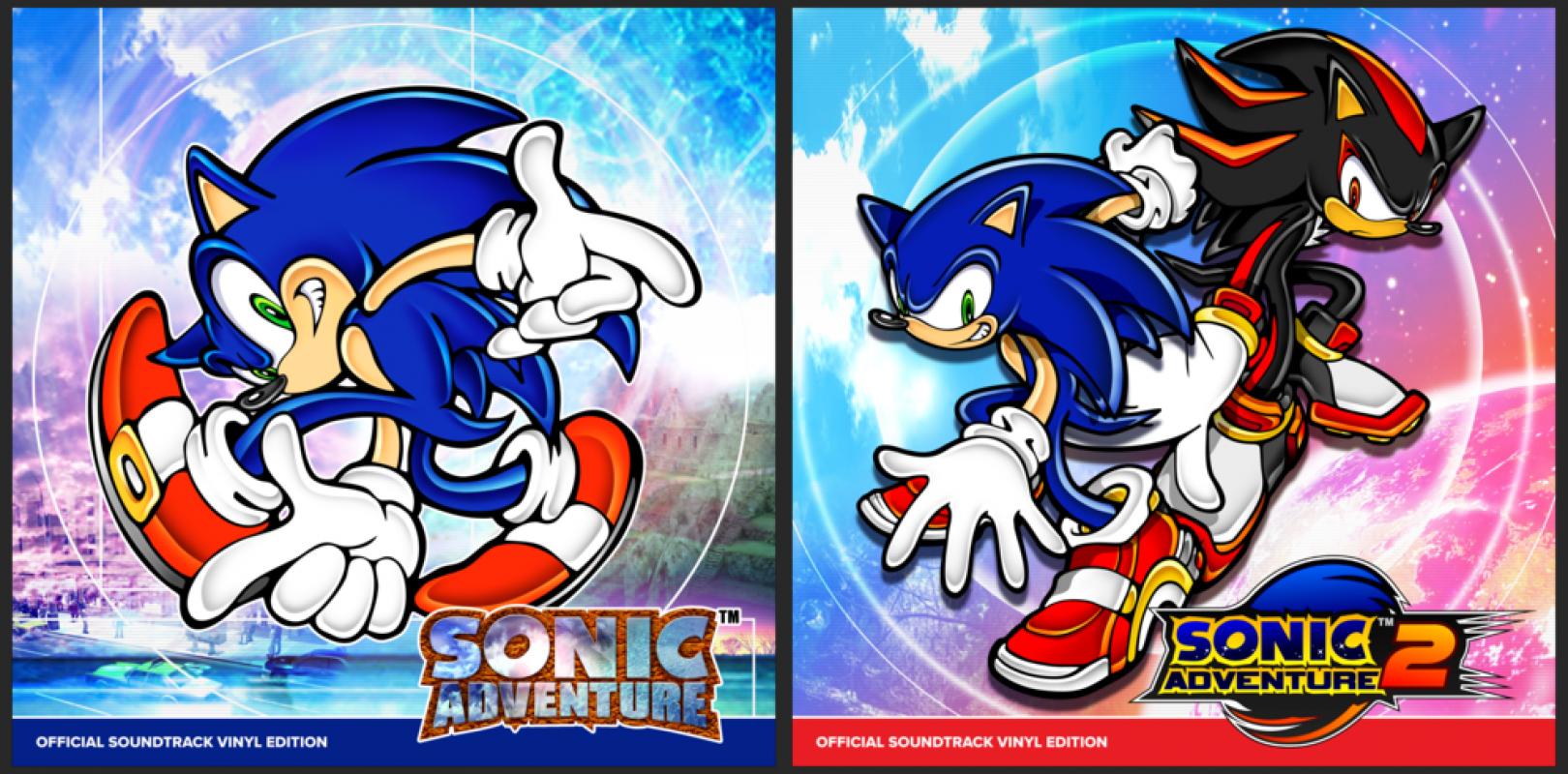 Sonic adventure 1 & 2